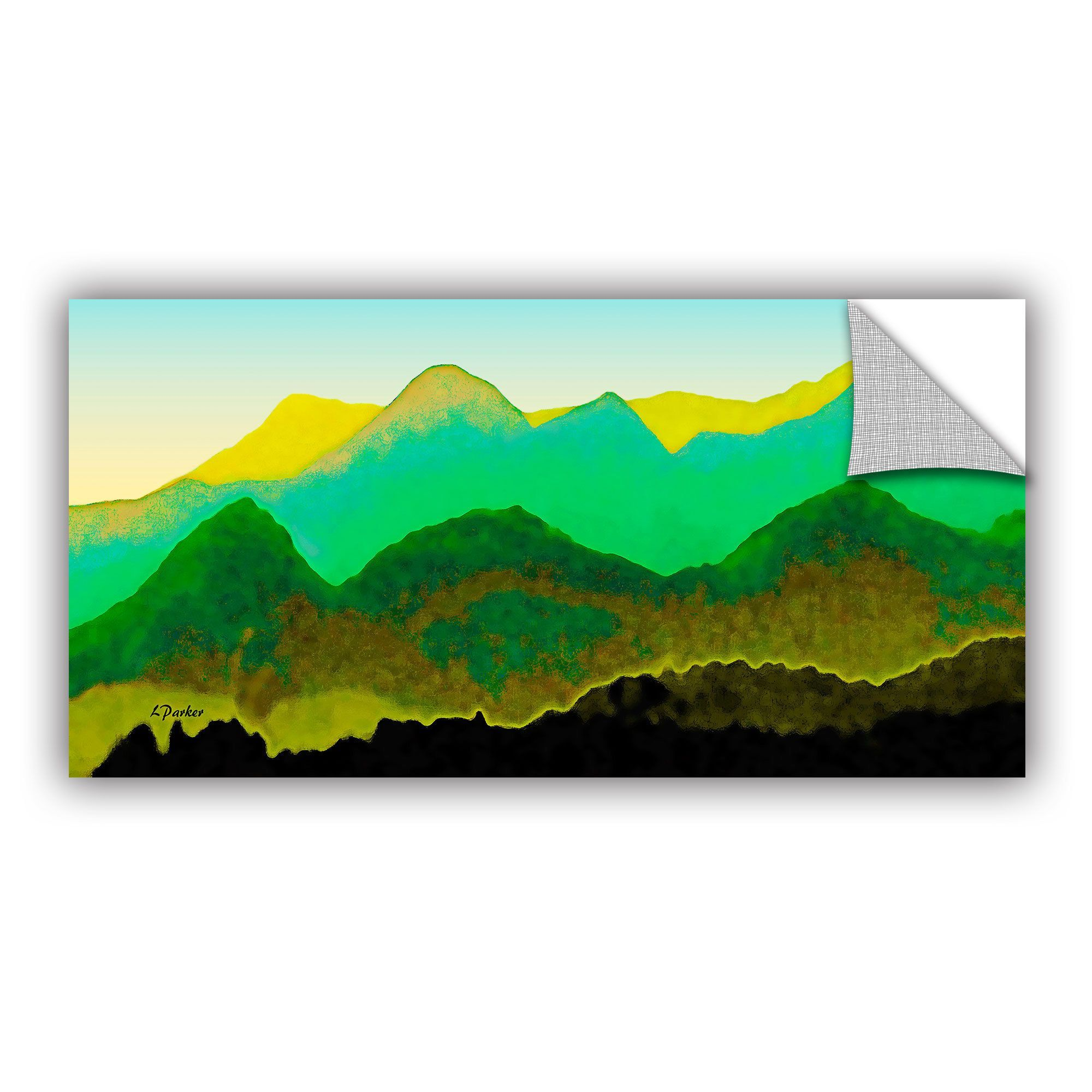ArtWall ArtAppealz Linda Parker 'Pyrenees In Spring' Removable Wall Art