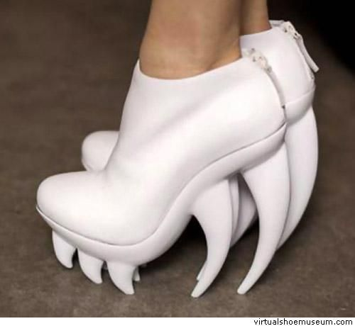 Fang (white) by United Nude and Iris van Herpen