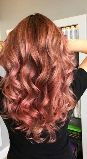 Stunning Rose Gold Hair Ideas Gorgeous Hairstyles Pinterest