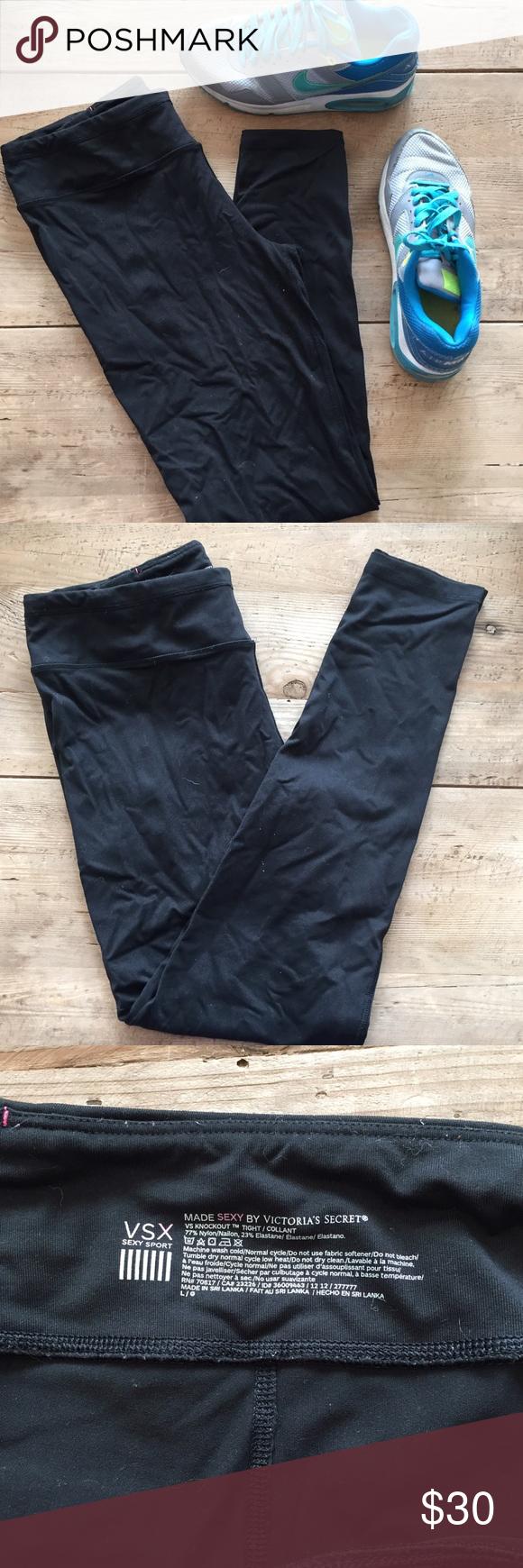 Black Leggings | Victoria Secret Black leggings Victoria's Secret Pants Leggings
