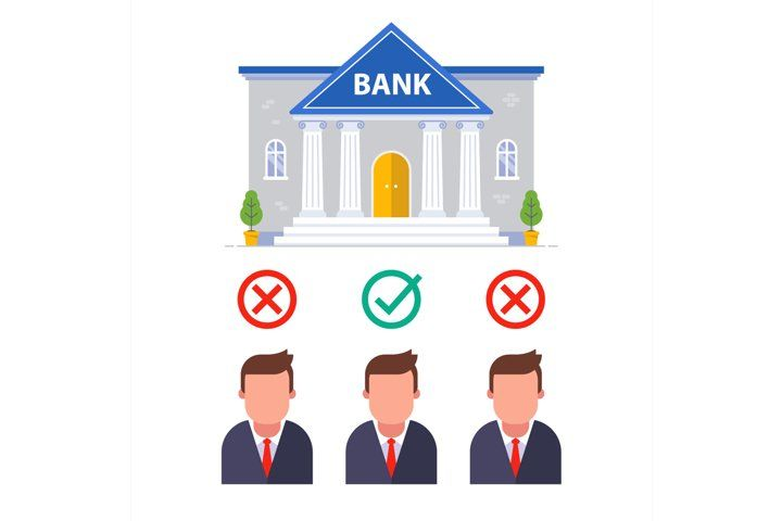 To Approve A Loan From Candidates In The Bank 991924 Illustrations Design Bundles In 2020