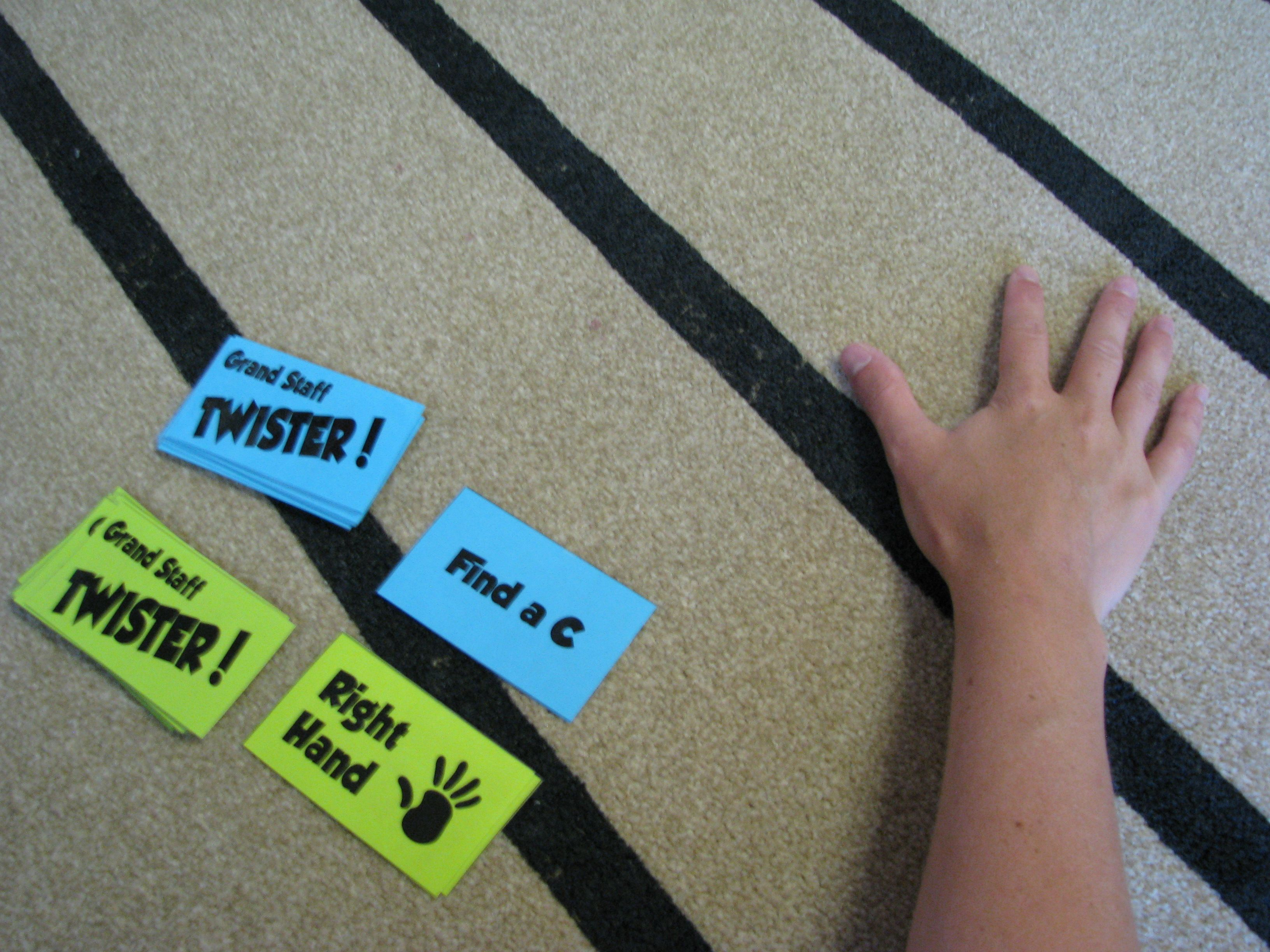 Grand Staff Twister Game Idea If We Have Extra Time In Let S Play Music Classes My Students