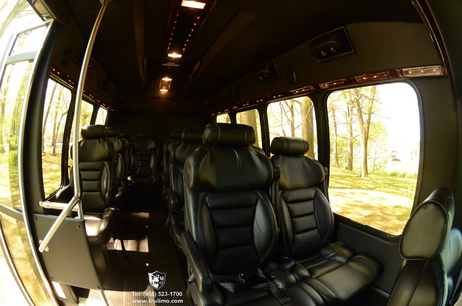 passenger nj shuttle bus interior ulimo tel