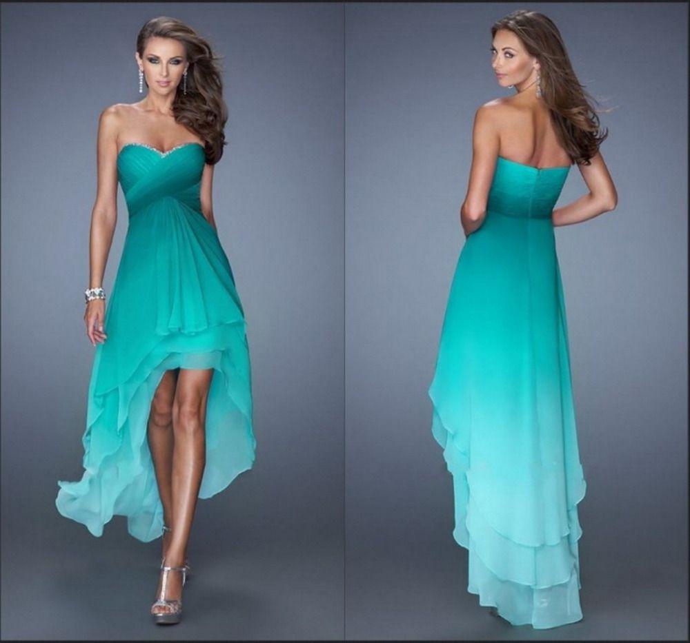 High Low Cheap Prom Dresses 2015_Prom Dresses_dressesss