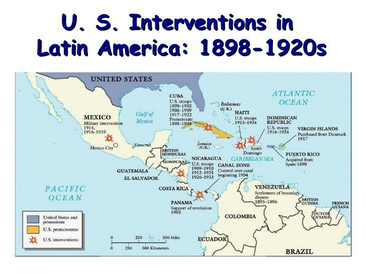 Imperialism In Latin America Map.Pin By Supham02 On U S Intervention And Regime Change Pinterest