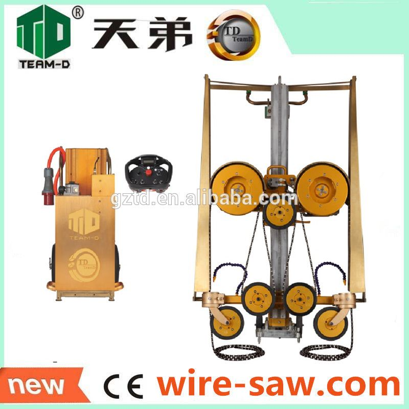 wire saw cutting machine/Professional portable concrete saw with low ...