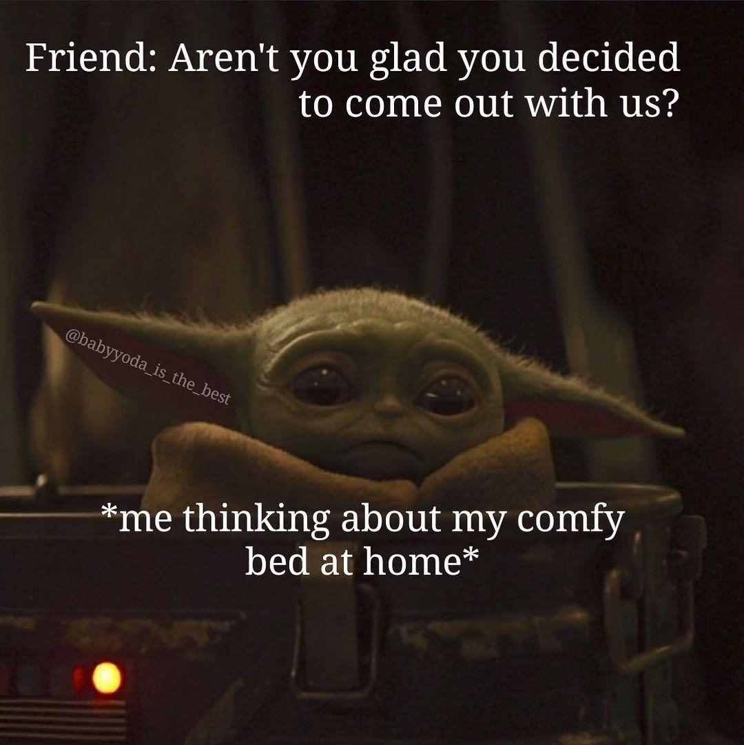 1 196 Likes 13 Comments Baby Yoda Babyyoda Is The Best On Instagram Follow Babyyoda Is The Best Yoda S Yoda Yoda Meme Funny Relatable Memes