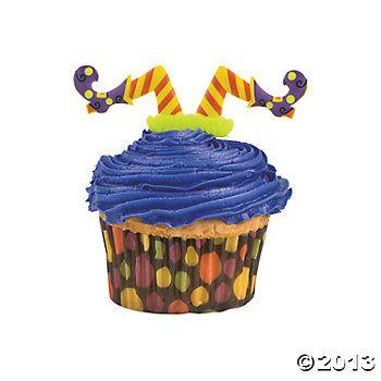 Witches\u0027 Legs Cupcake Picks $725 24 Piece(s) Halloween