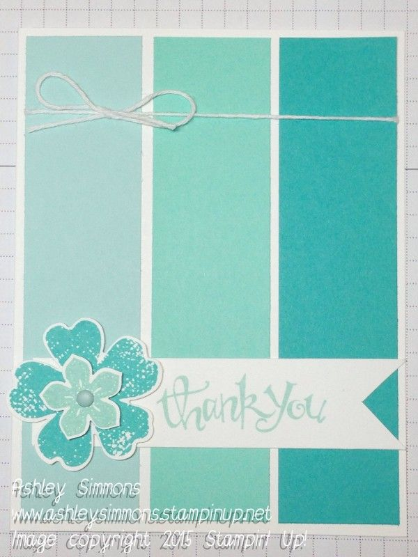 Stampin' Up! Flower Shop and Petite Petals Weekend Challenge 8-28-15