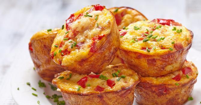 Recette de Muffins tomates mozzarella