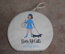Vintage Betsy McCall Round Hat Box Case PRETTY PAC