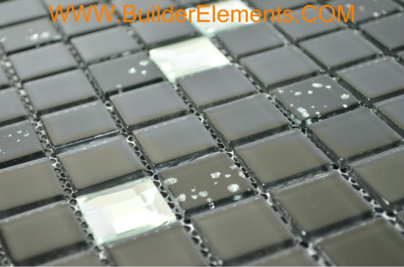 Home elementi in cristallo piastrelle piastrelle di mosaico di