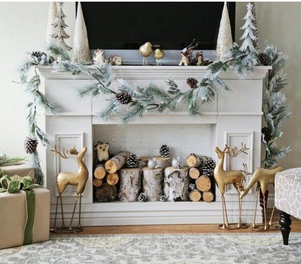 Lieblich DIY Kaminumrandung Schön Zu Weihnachten Dekorieren. Fireplace Surround  Yourself Build U2013 DIY Instructions For Decorative Fireplace | One Decor