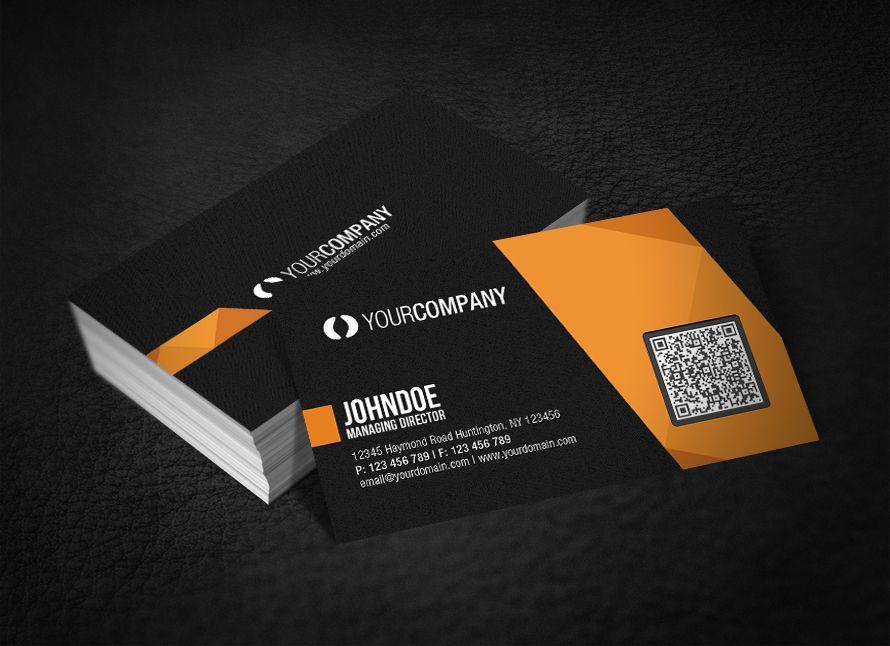 Elegante Digitale Visitenkarte App Die Mit Roten High