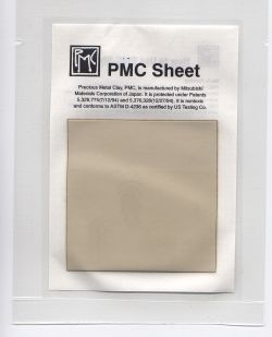 Precious Metal Clay sheet (sometimes called paper) is a unique formula of PMC that is different from all the other formulas or types of PMC. PMC...