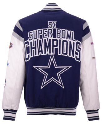 buy popular 2f54a 78df2 Men's Dallas Cowboys Home Team Varsity Jacket | Products in ...