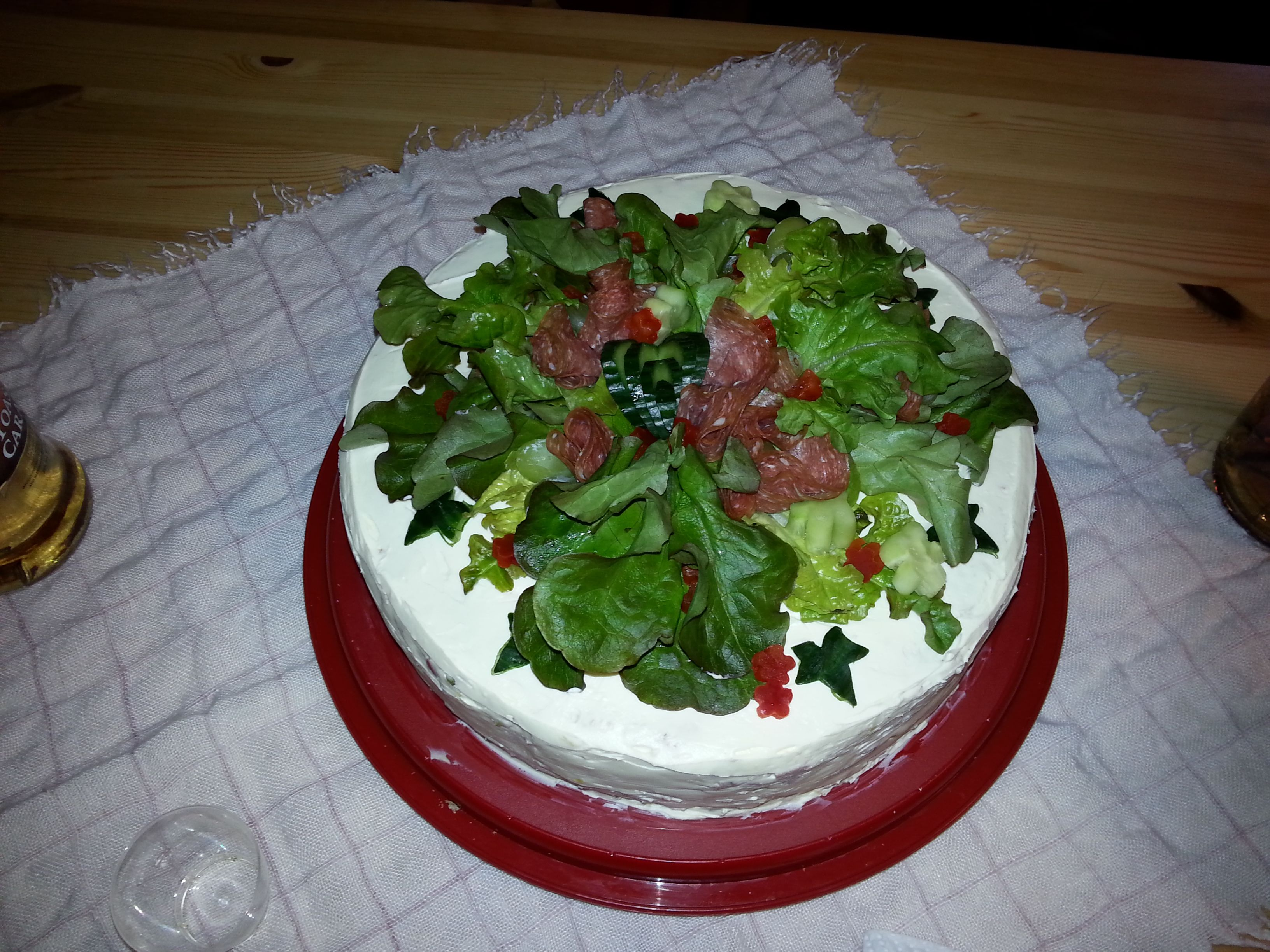 Voileipä kakku