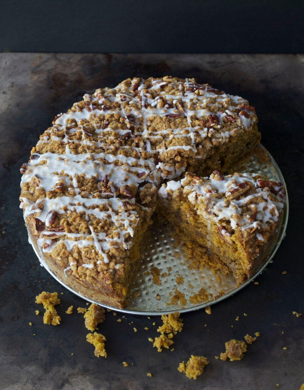 Pumpkin Streusel Coffee Cake Pumpkin coffee cakes