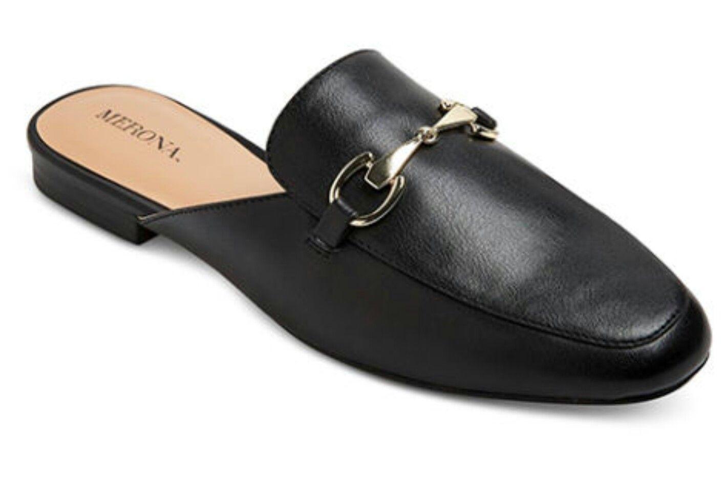 Target Merona backless mule loafers