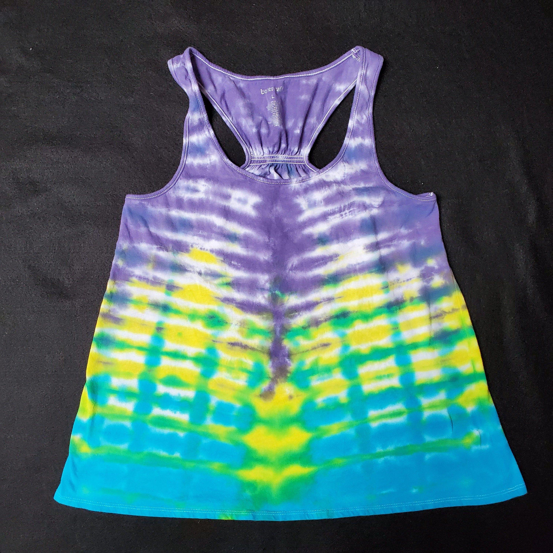 Flowy Handmade Tie Dye Tank