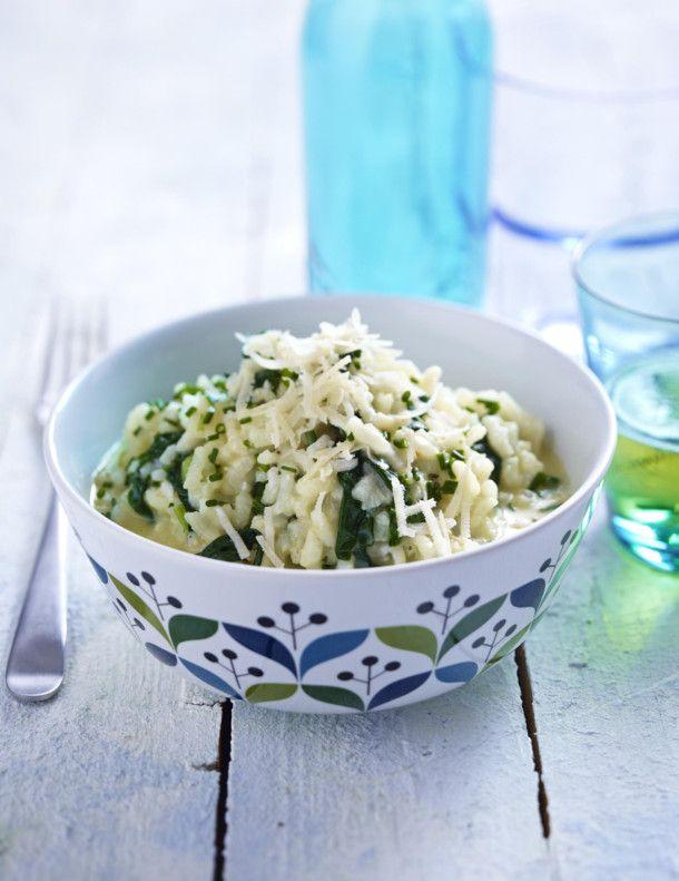 Unser beliebtes Rezept für Spinat-Risotto und mehr als 55.000 weitere kostenlose Rezepte auf LECKER.de.