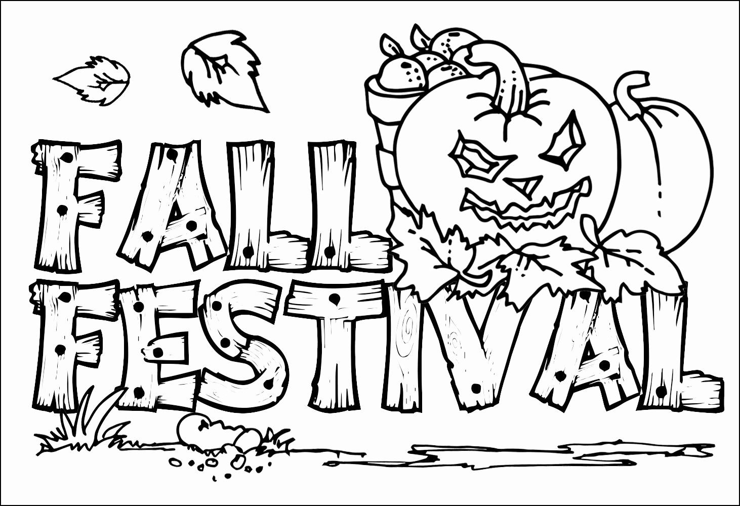 Autumn Coloring Pages Printable Best Of Fall Coloring Pages Fall Coloring Pages Fall Coloring Sheets Halloween Coloring Pages