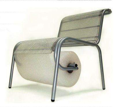 Bubble Wrap Chair