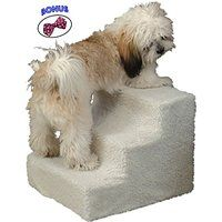 Cheap Pet Stairs. 3 Step Staircase Helps Small And Older Dog And Cat To  High Bedu2026