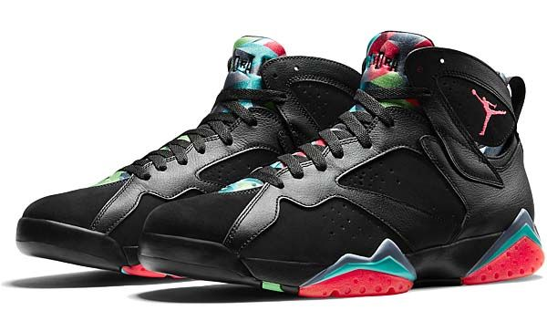 NIKE AIR JORDAN 7 RETRO 30th ANNIVERSARY MARVIN THE MARTIAN  BLACK    INFRARED 23-BLUE GRAPHITE-RETRO NOIR  (705350-007) b4e4867dc52f