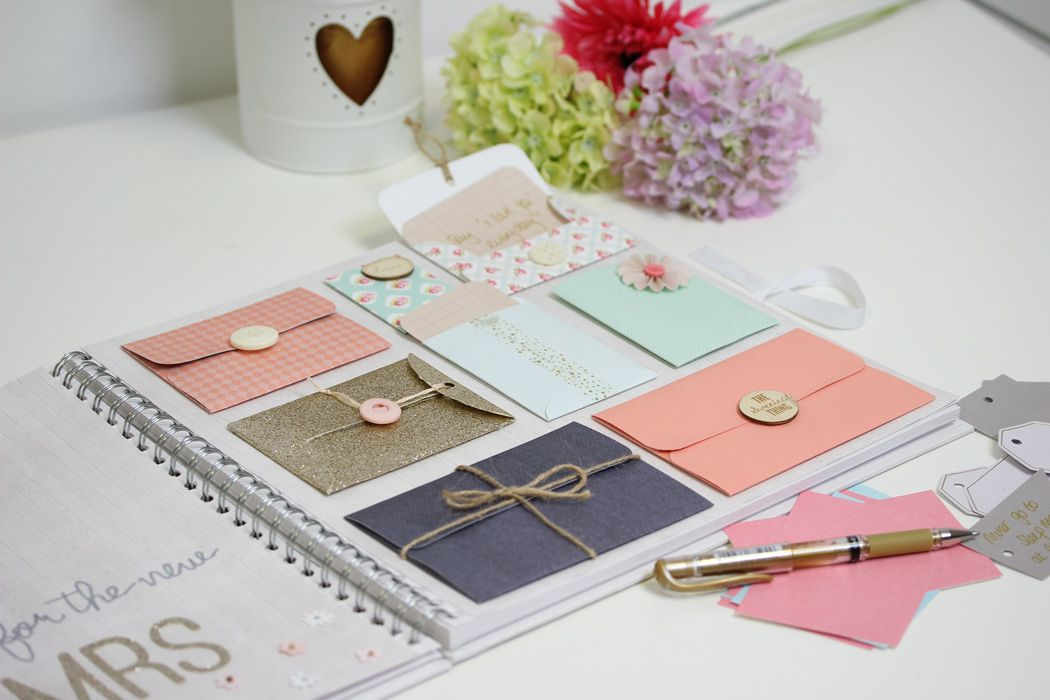 Next Wedding Gift List: How To Make An Envelope Wedding Guestbook