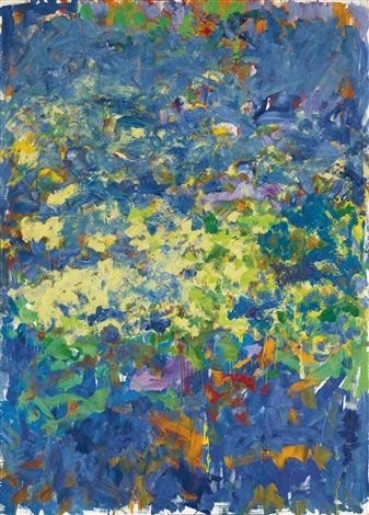 La Grande Vallee Xiii By Joan Mitchell Joan Mitchell Abstract Art