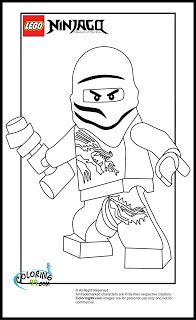 LEGO Ninjago Zane Coloring Pages | Lots O Legos | Pinterest | Lego ...