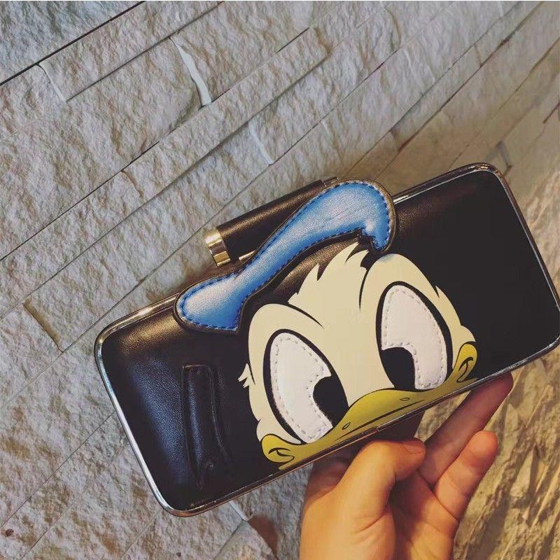 b2e53dc39 Bolsa Clutch Divertida Desenho Animado Pato Donald Bolsas Divertidas ...