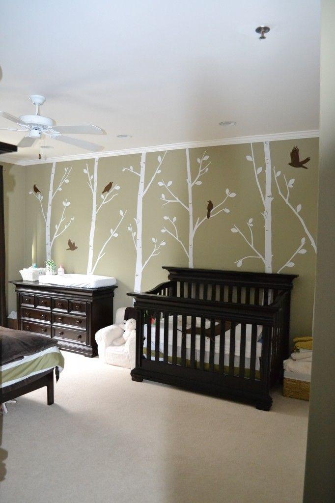 Munchkin's Serene Forest Forest nursery, Girl nursery