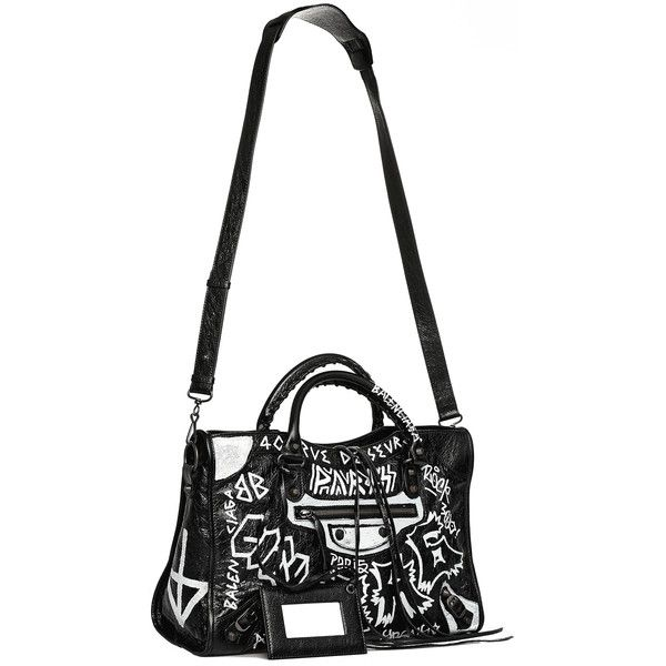 Balenciaga Graffiti Classic City S Bag (7 e09da8c404105