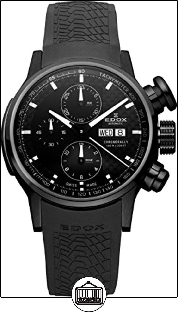EDOX 01116 37NPN GIN - Reloj , correa de goma  ✿ Relojes para hombre - (Lujo) ✿