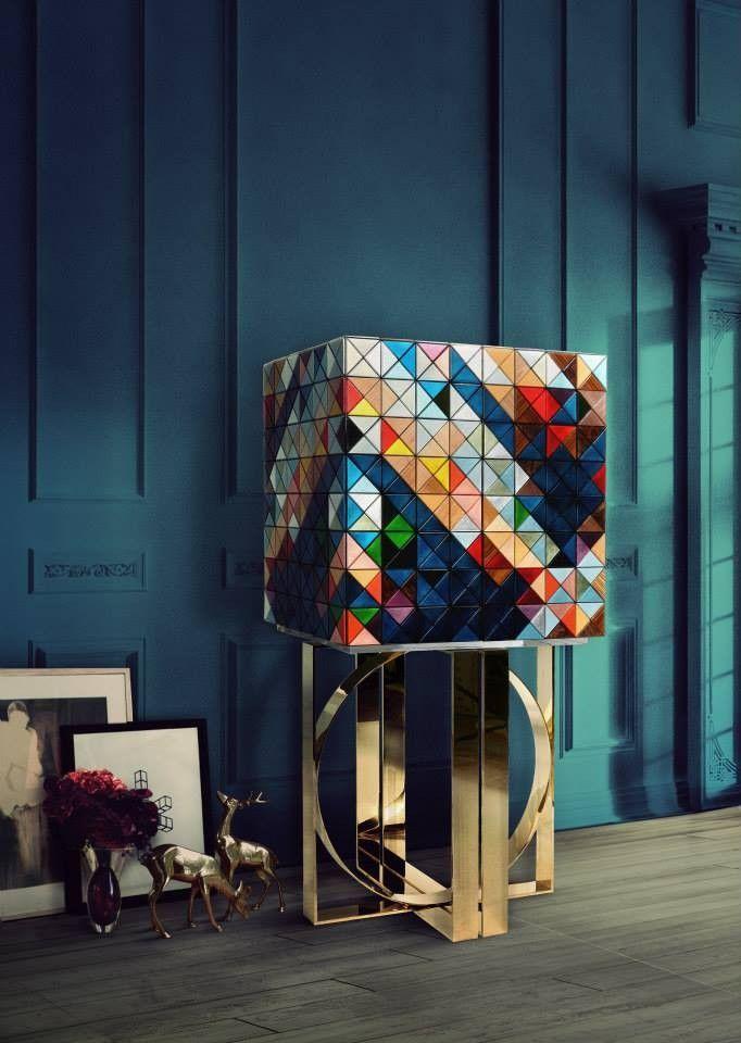 Mueble Bar Pixel de Boca Do Lobo Más información, aquí: http://www ...