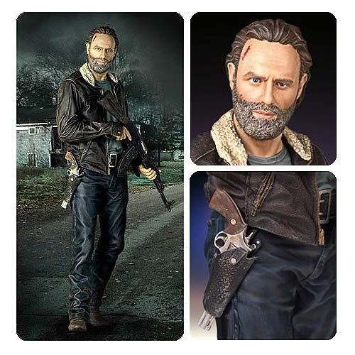 The Walking Dead Season 5 Rick Grimes 1 4 Scale Statue The Walking Dead Walking Dead Season Grimes