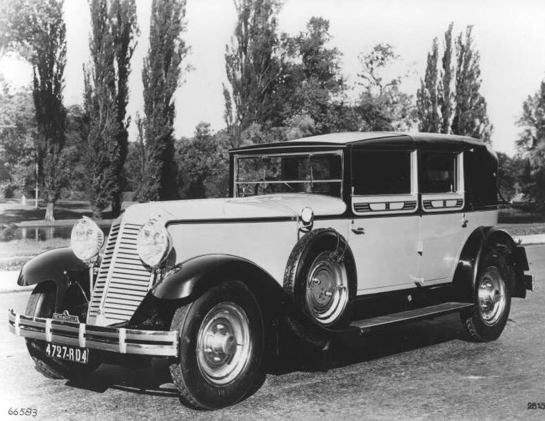 1928-1934 Renault Reinastella - A high-end model launched at the ...