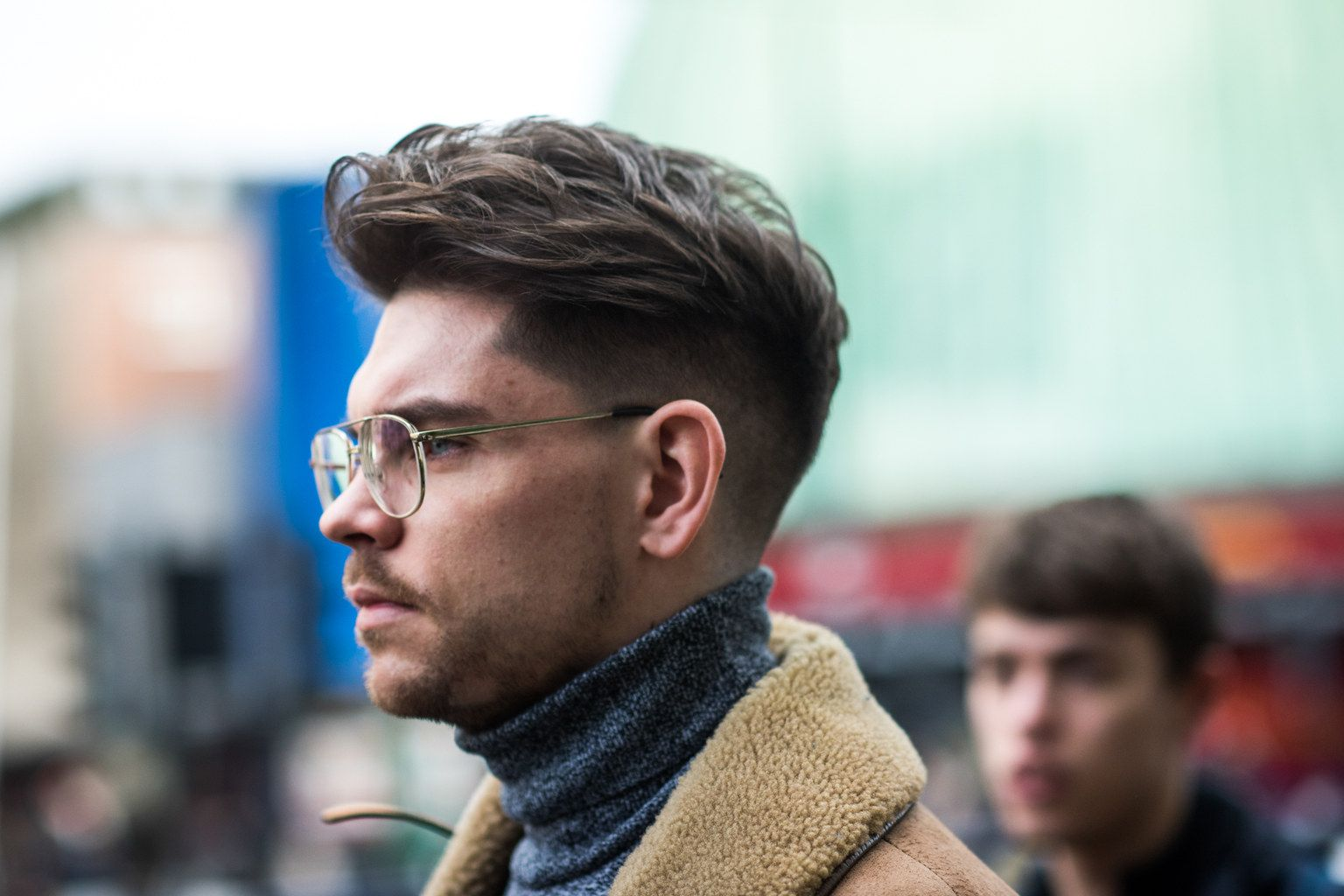 Best curly haircut for men the best street style from london collections men  ss