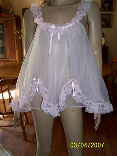 7d65d7633 Vintage See through Nightgown