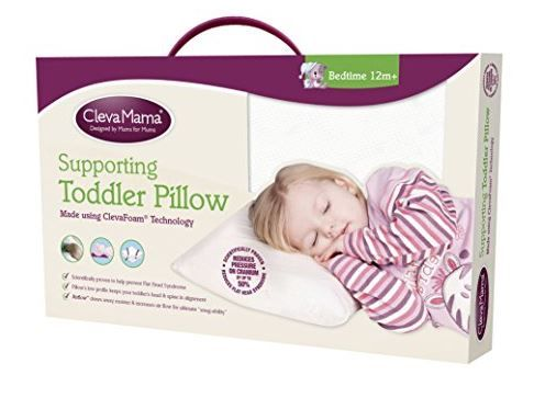 Clevamama Baby Pillow with Breathable