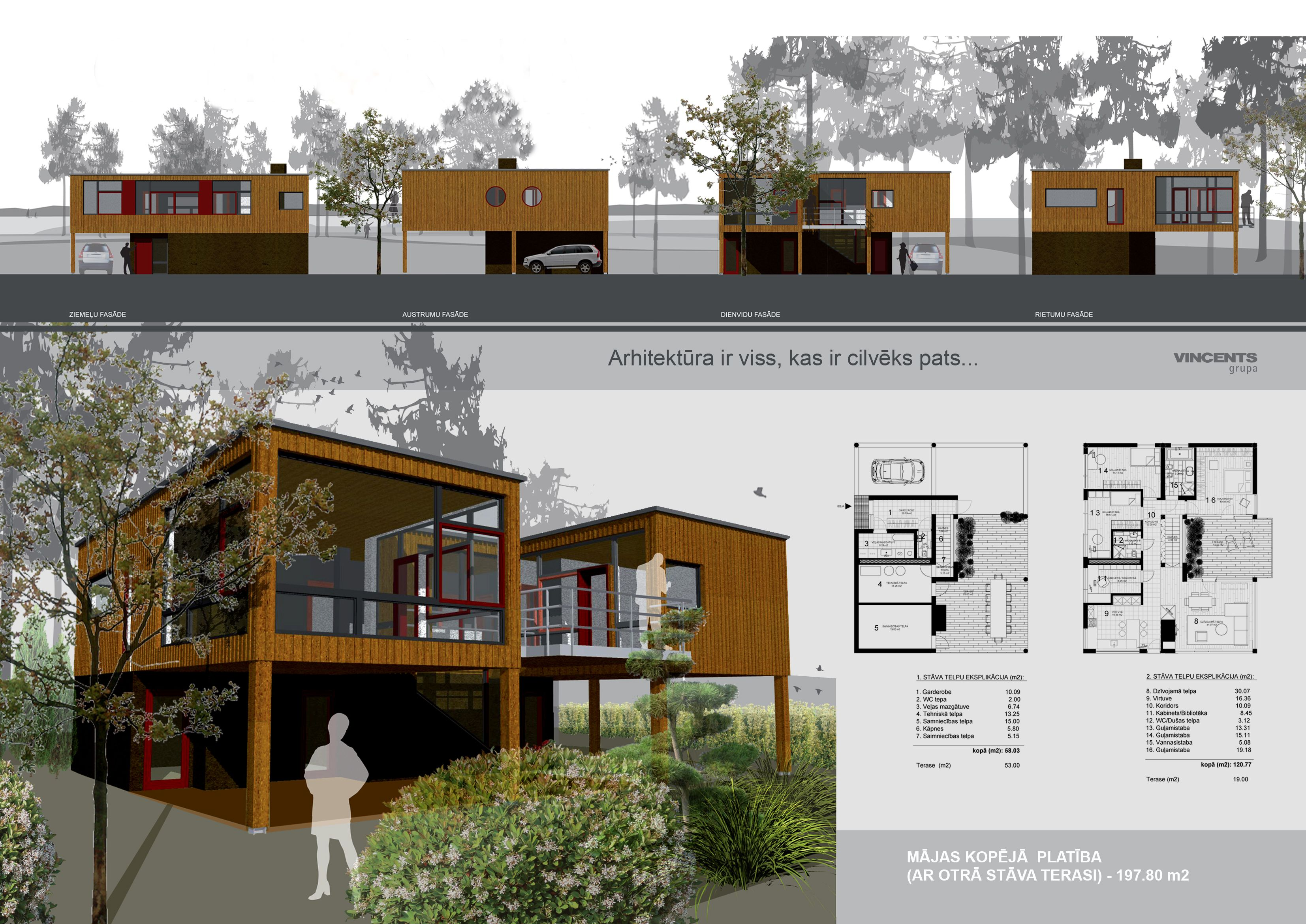 Architecture portfolio layout indesign house plans for Architects house plans