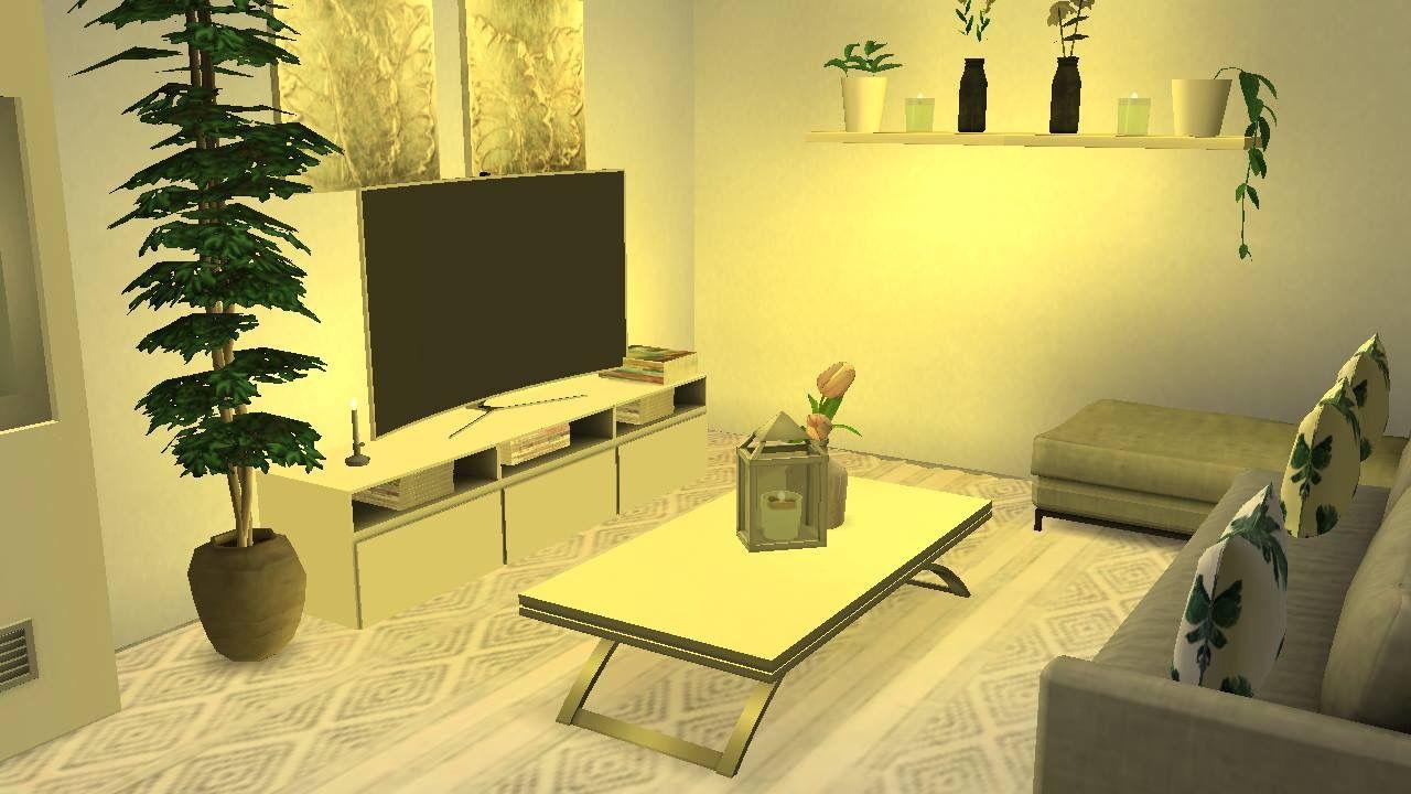 Livingroom Sims 4 | Inspiration Sims rum | Pinterest | Sims