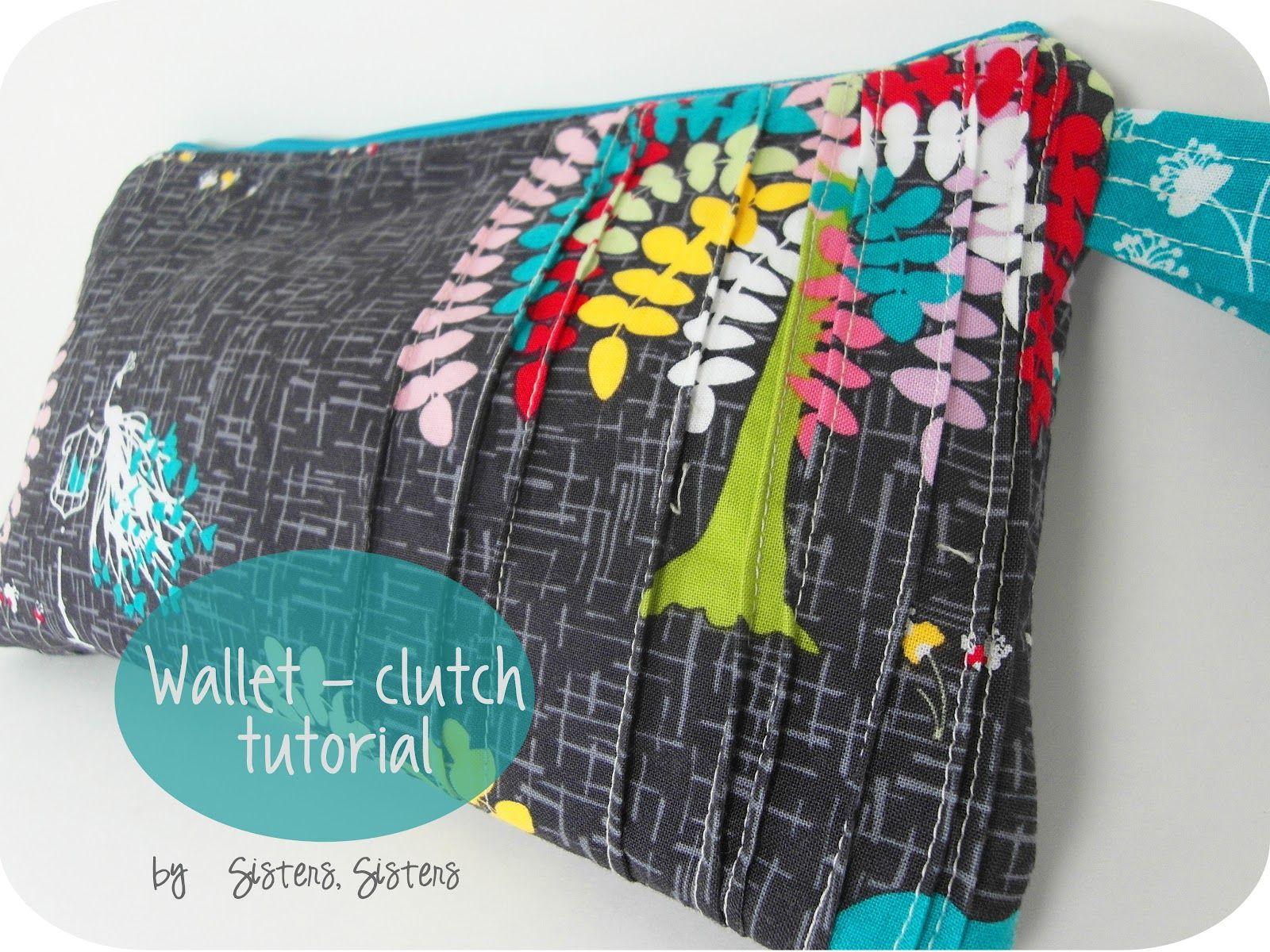 Wallet clutch tutorial sewing pinterest clutch tutorial wallet clutch tutorial jeuxipadfo Gallery