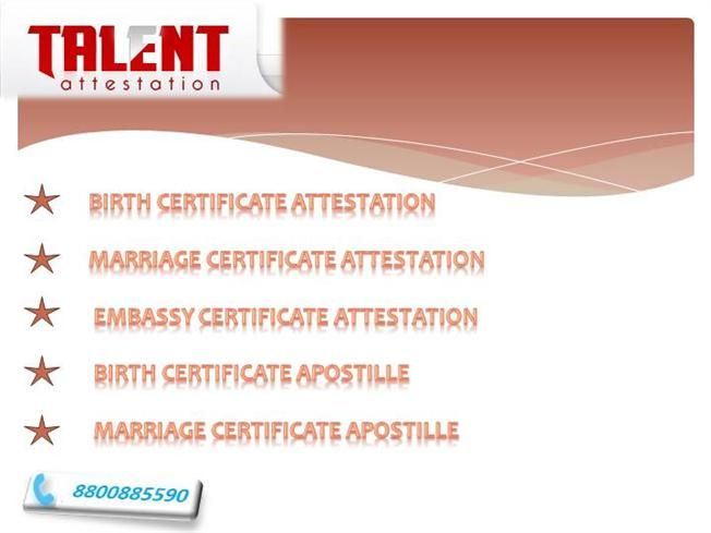 Call 8800885590 Talent Attestation Is The Premier Certificate