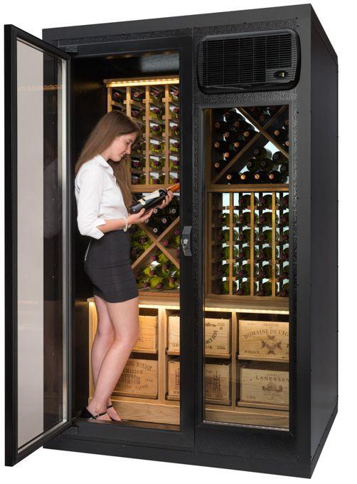 Cavispace Glass Wine Cellar | Wine Cellar | Pinterest | Wine ...