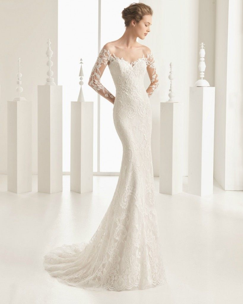 25 Pretty Perfect Off Shoulder Wedding Dresses