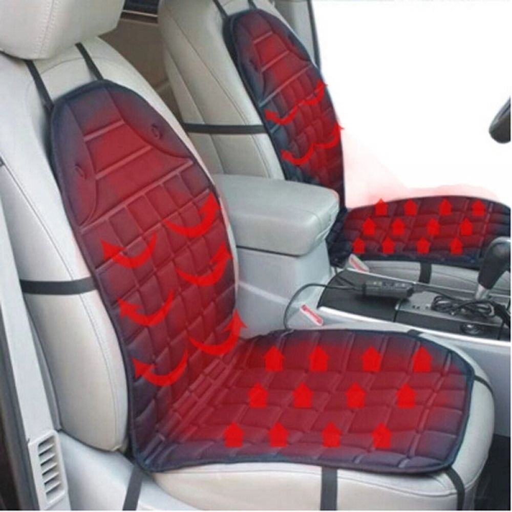 12v Heated Car Seat Cushion Cover Seat Heater Warmer Winter