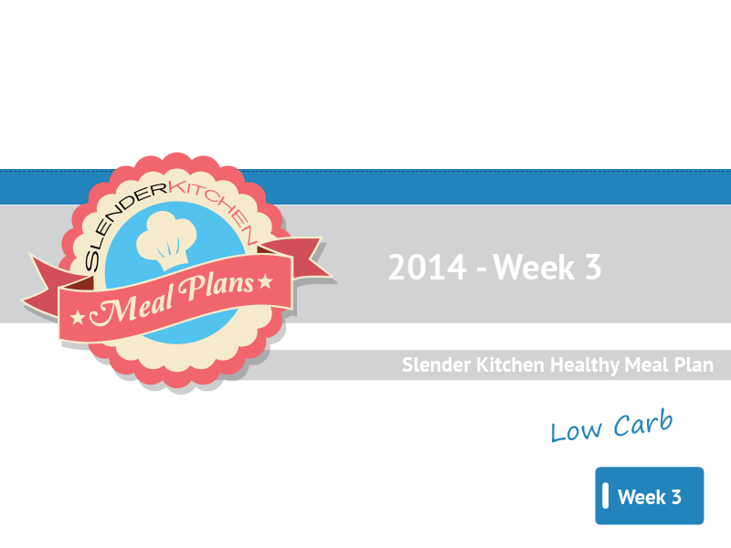 SK Low Carb Meal Plans 2014 – Week 3 | Slender Kitchen